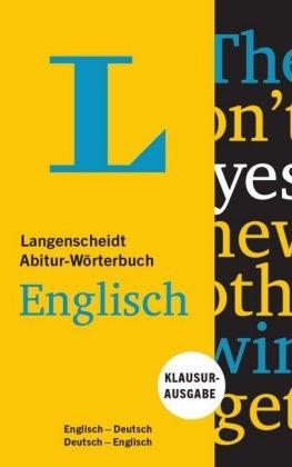 Langenscheidt Abitur-Wörterbuch Englisch, Klausurausgabe
