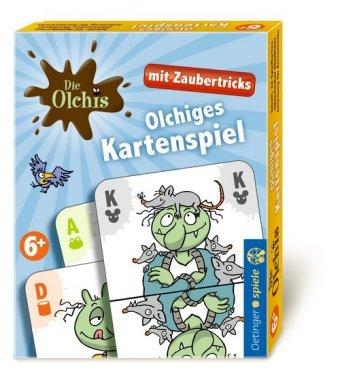 Die Olchis Kartenspiel mit Zaubertricks (Kinderspiel)