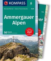 KOMPASS Wanderführer Ammergauer Alpen, m. 1 Karte Cover