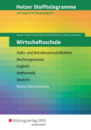 Wirtschaftsschule, Baden-Württemberg (Aufgabenband)