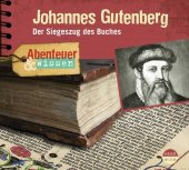 Johannes Gutenberg, 1 Audio-CD Cover