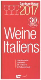 Weine Italiens 2017 Cover