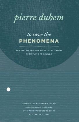 To Save the Phenomena