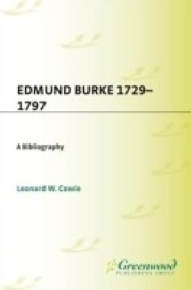 Edmund Burke, 1729-1797: A Bibliography