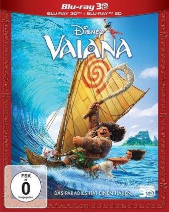Vaiana 3D, 2 Blu-rays