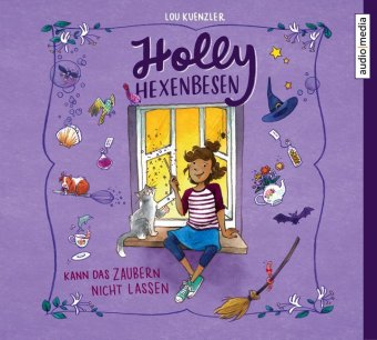 Holly Hexenbesen kann das Zaubern nicht lassen, 2 Audio-CDs