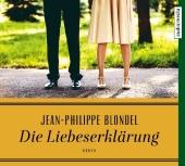 Die Liebeserklärung, 3 Audio-CDs Cover