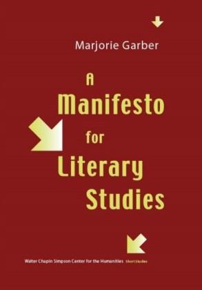 Manifesto for Literary Studies