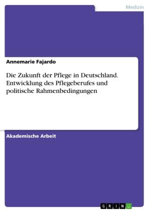 Die Zukunft der Pflege in Deutschland. Entwicklung des Pflegeberufes und politische Rahmenbedingungen