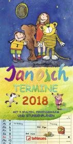 Janosch Termine 2018 Cover