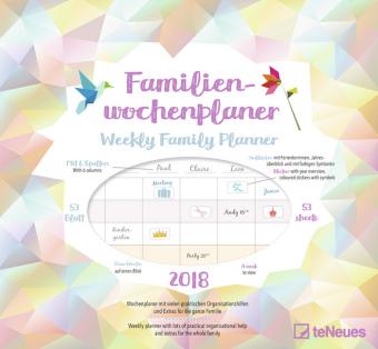 Familienwochenplaner Origami 2018