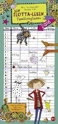 Lotta-Leben Familienplaner - Kalender 2018