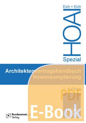 Architektenvertragshandbuch Innenraumplanun (E-Book)