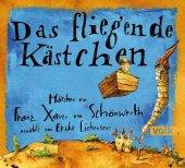 Das fliegende Kästchen, Audio-CD Cover