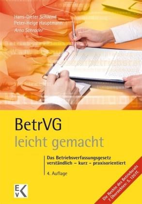 BetrVG (Betriebsverfassungsgesetz) - leicht gemacht