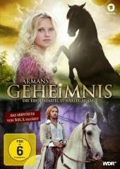 Armans Geheimnis - Die erste Staffel in Spielfilmlänge, 1 DVD Cover