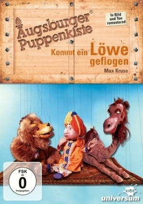 Augsburger Puppenkiste - Kommt ein Löwe geflogen, 1 DVD