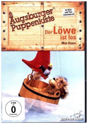 Augsburger Puppenkiste - Der Löwe ist los, 1 DVD