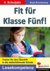 Fit für Klasse Fünf! - Lesekompetenz Cover