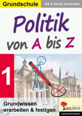 Politik von A bis Z Cover