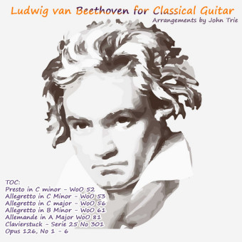 Beethoven for Classical Guitar