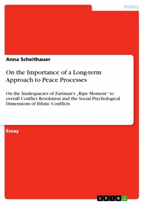On the Importance of a Long-term Approach to Peace Processes