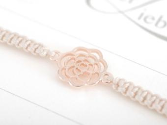 Armband mit Element - Rose, die Blume der Liebe