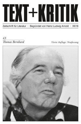 TEXT+KRITIK 43 - Thomas Bernhard