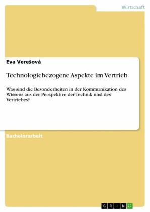 Technologiebezogene Aspekte im Vertrieb