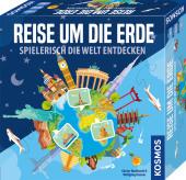 Reise um die Erde (Kinderspiel) Cover