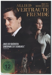 Allied - Vertraute Fremde, 1 DVD Cover