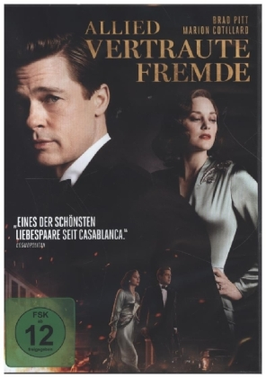 Allied - Vertraute Fremde, 1 DVD