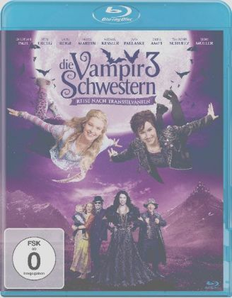 Die Vampirschwestern 3 - Reise nach Transsilvanien, Blu-ray