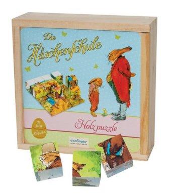 Die Häschenschule (Würfelpuzzle)