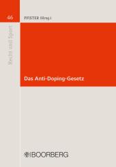 Das Anti-Doping-Gesetz