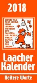Laacher Kalender Heitere Worte 2018 Cover