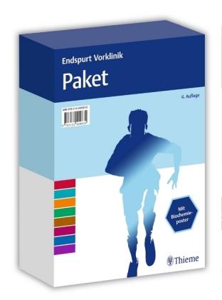 Endspurt Vorklinik Paket, 14 Bde.