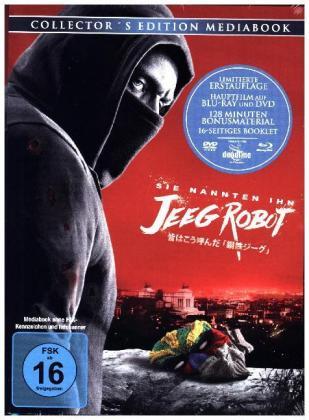 Sie nannten ihn Jeeg Robot, 1 Blu-ray + 1 DVD (Mediabook)