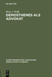 Demosthenes als Advokat