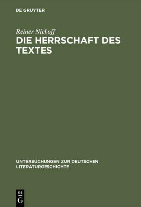 Die Herrschaft des Textes