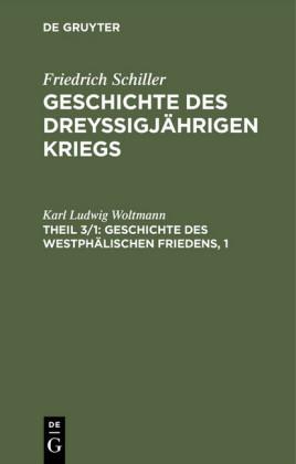 Geschichte des Westphälischen Friedens, 1