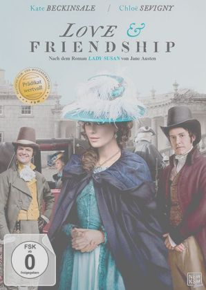 Love & Friendship, 1 DVD