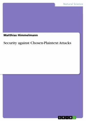 Security against Chosen-Plaintext Attacks