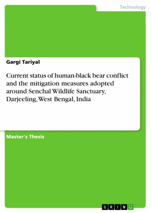 Current status of human-black bear conflict and the mitigation measures adopted around Senchal Wildlife Sanctuary, Darjeeling, West Bengal, India