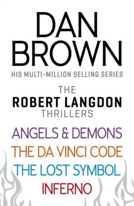 Dan Brown's Robert Langdon Series Bundle