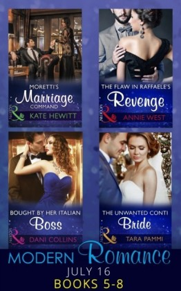 Modern Romance July 2016 Books 5-8