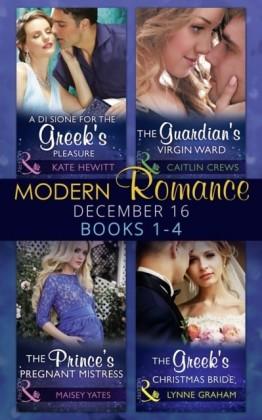 Modern Romance December 2016 Books 1-4
