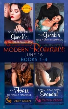 Modern Romance June 2016 Books 1-4