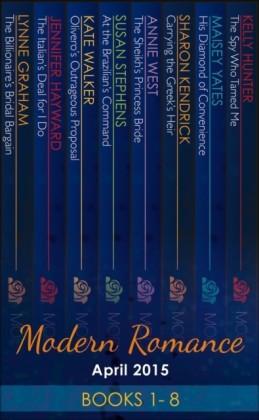 Modern Romance April 2015 Books 1-8