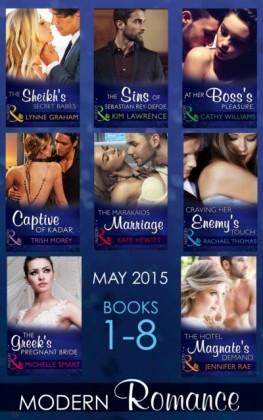Modern Romance May 2015 Books 1-8